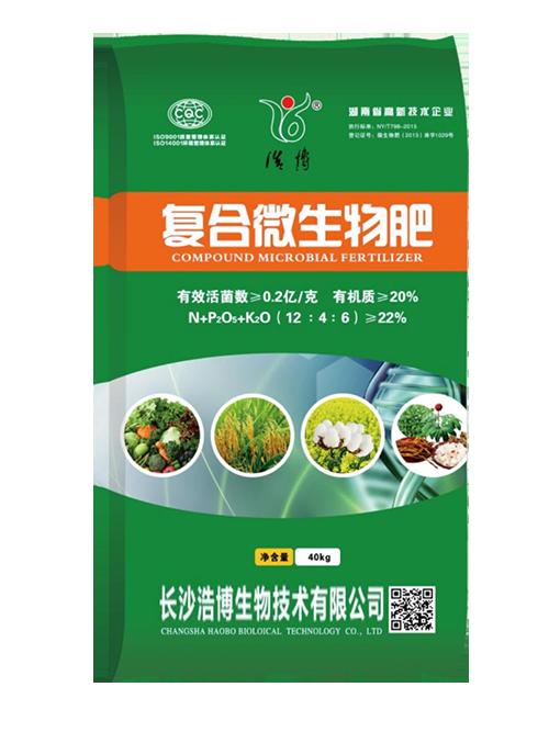 复合微生物肥(12-4-6)